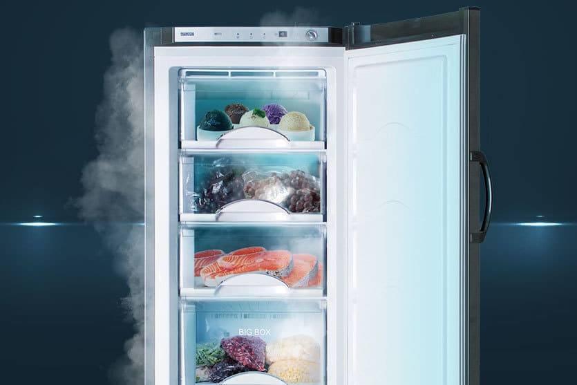 """Зачем нужна кнопка заморозки в холодильнике """"Атлант"""""""