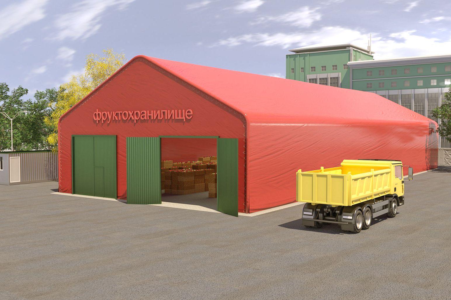 Почему стоит заказать строительство зернохранилища по бескаркасной технологии?