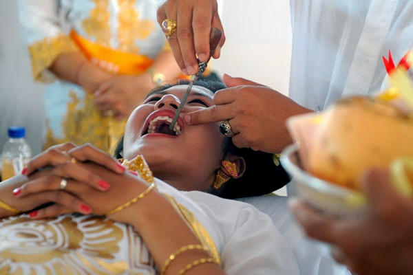 Балийские свадебные традиции