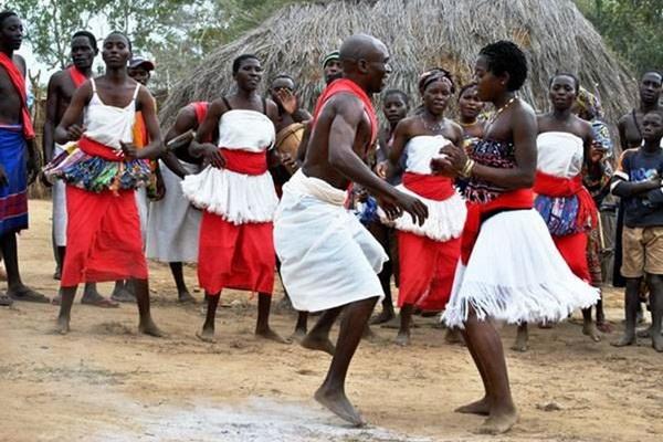 Свадьба в Центральной Африке