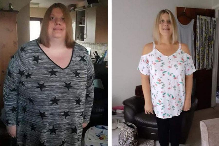 191-килограммовая женщина пожалела мужа и сбросила вес вдвое