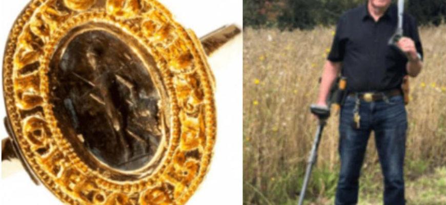 Бесценное средневековое кольцо 40 лет пролежало забытым