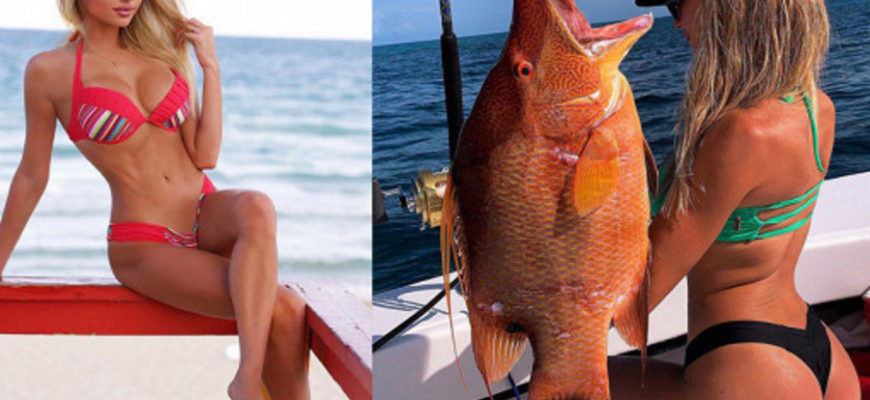 Обнаружена самая привлекательная женщина-рыбачка