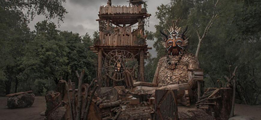 Бельгийский художник создает скульптуры сказочных троллей и прячет их в лесах