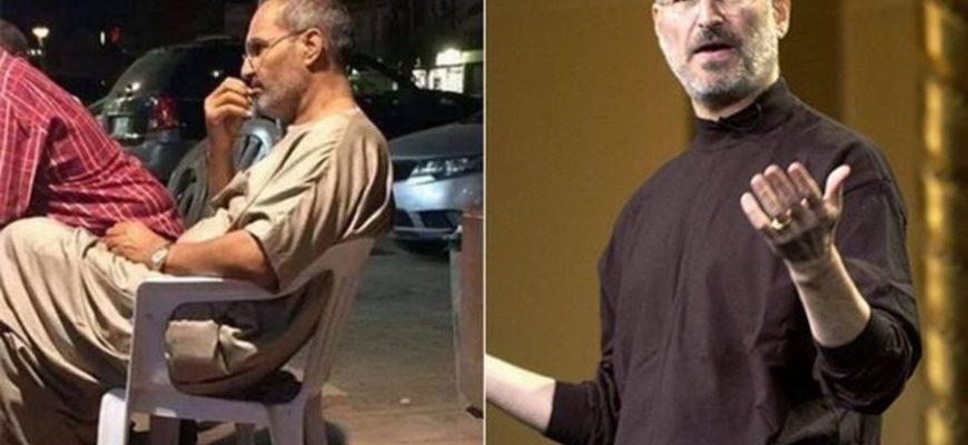 Двойник основателя Apple Стива Джобса обнаружен в Египте