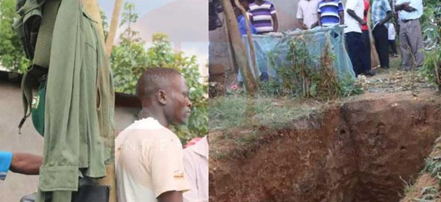 В Кении мертвеца достали из могилы ради рабочей формы
