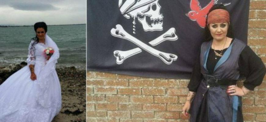 Женщина вышла замуж за призрака пирата
