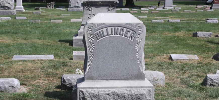 В США эксгумируют останки гангстера Джона Диллинджера