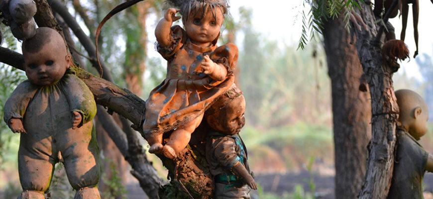 Мексиканский остров кукол признан самой жуткой достопримечательностью