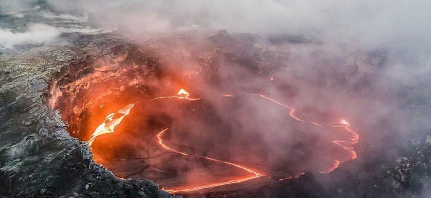 Ученые из США предсказали катастрофическое извержение гавайского вулкана, но это произойдет еще не скоро