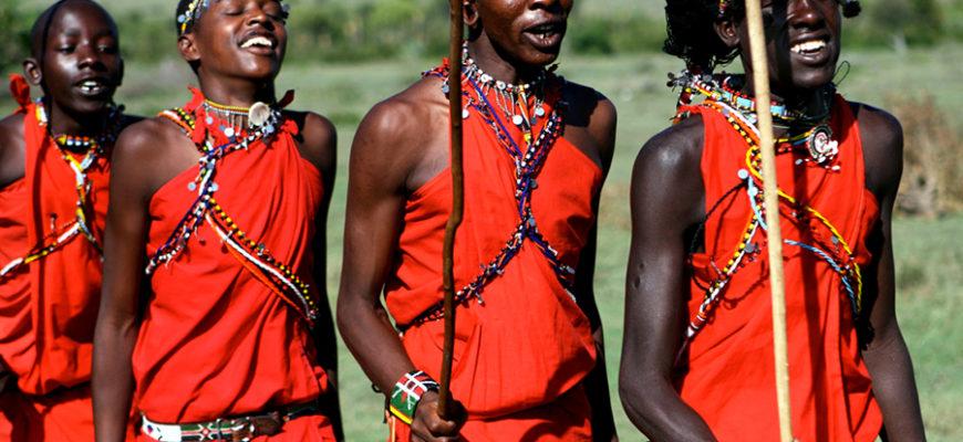 Редкий ритуал: как в Кении проходит обряд посвящения воинов