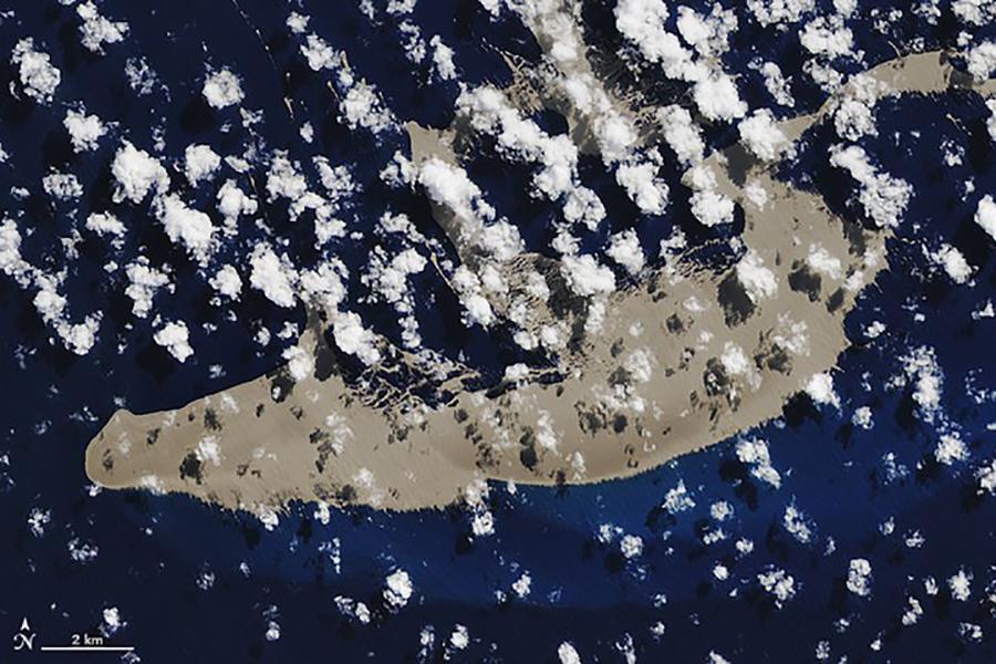 К австралийскому побережью плывет гигантская пемза