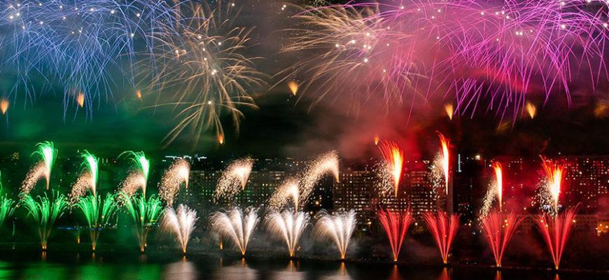 В Москве прошел международный фестиваль фейерверков