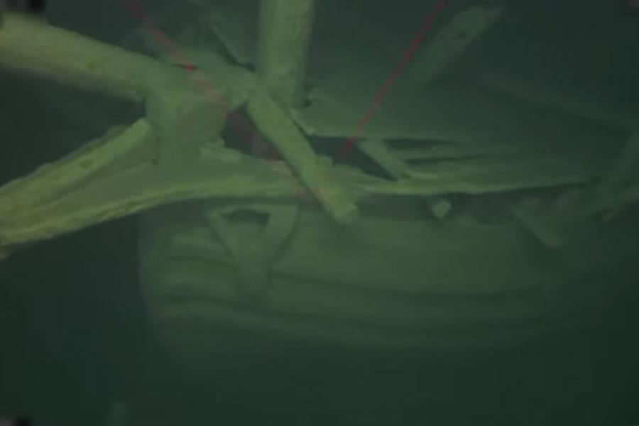 На дне Балтийского моря обнаружен старинный 500-летний корабль