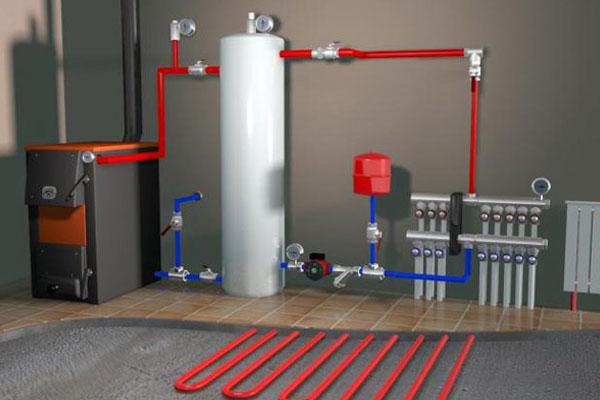 Электрическая система отопления