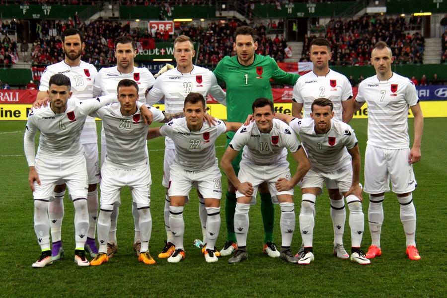 Футболистов Албании оскорбили перед матчем, ошибочно включив другой гимн