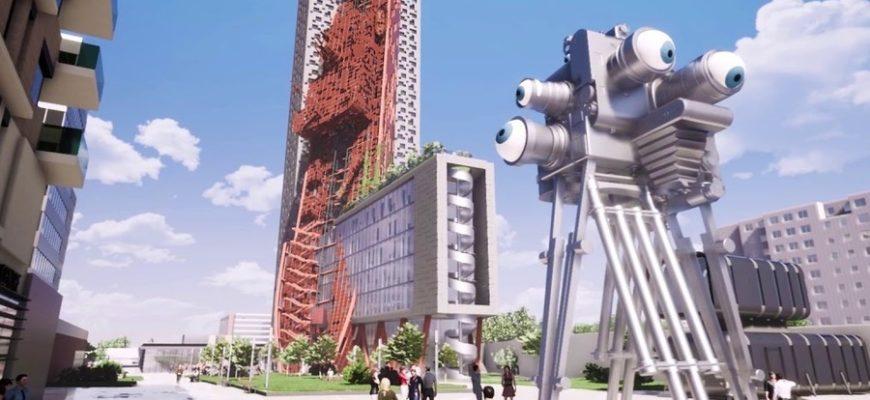 В Праге хотят построить самое высокое здание в мире