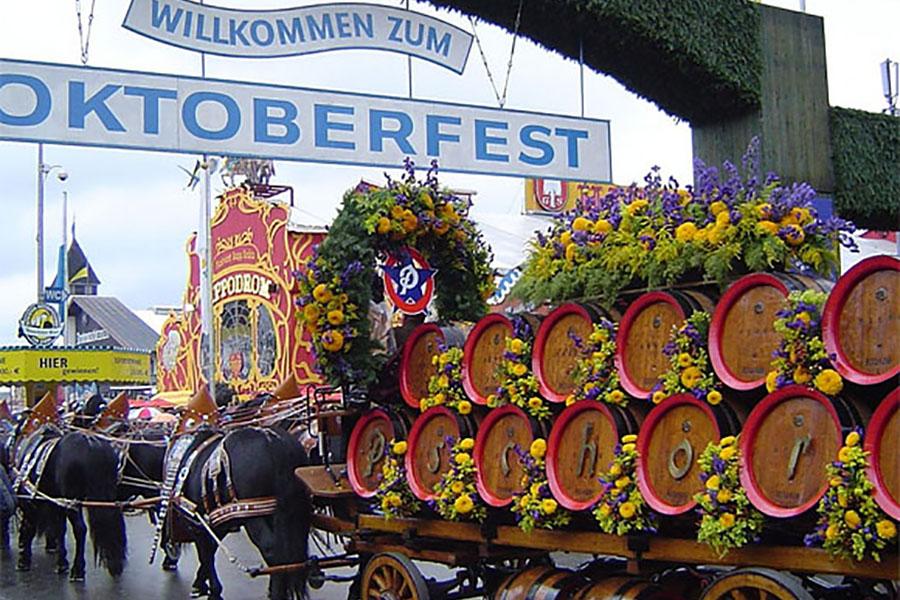 В Германии проходит знаменитый «Октоберфест»
