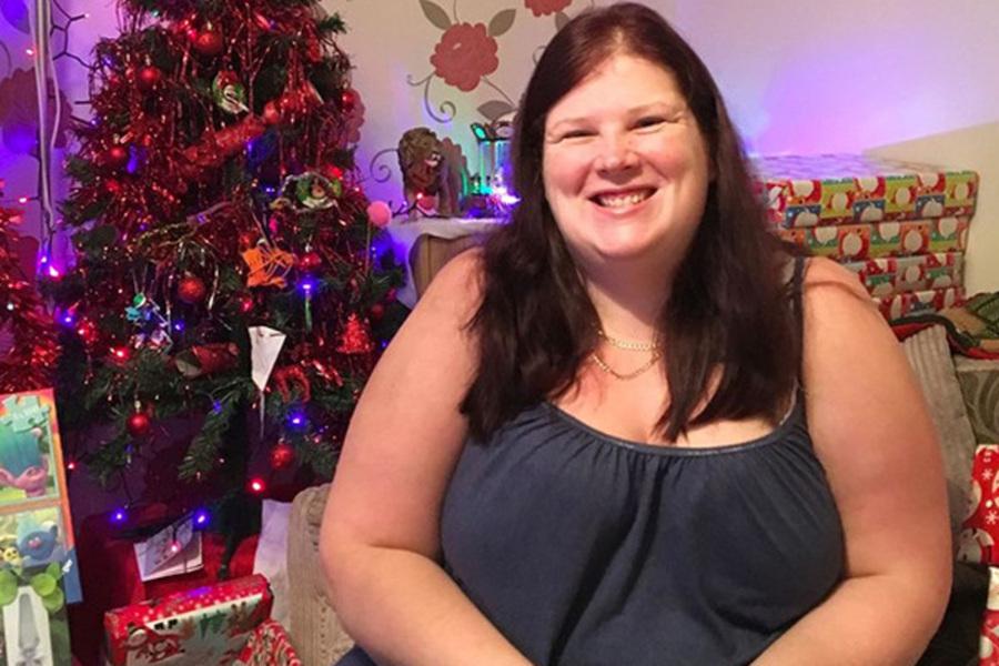Женщина избавилась от 63 килограмм, чтобы проводить больше времени с детьми