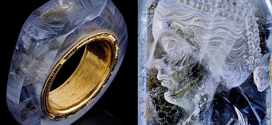 Кольцо императора Калигулы, которому 2 тысячи лет, выставлено на продажу