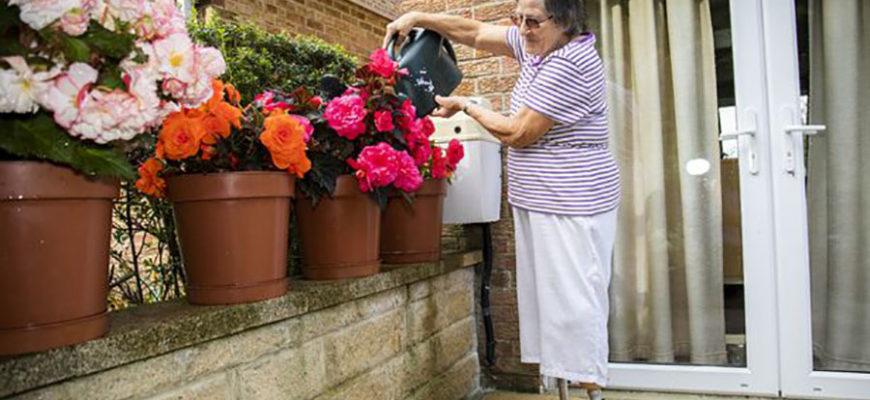 Британка поработала в саду и осталась без ног
