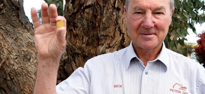 Американец наблюдал за птицами и нашел древнюю золотую монету