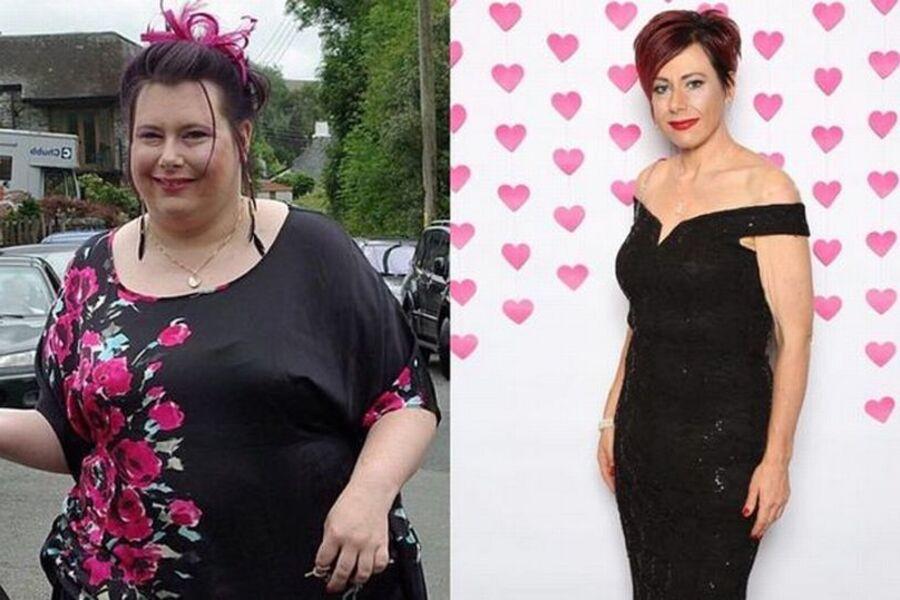 Женщина похудела на 76 кг благодаря пицце и чипсам