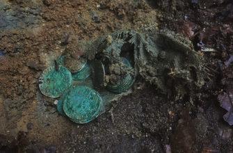 Огромный средневековый клад из 1000 серебряных и бронзовых монет нашли в Дании
