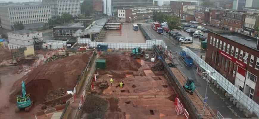 В Великобритании под автовокзалом нашли старинный римский форт
