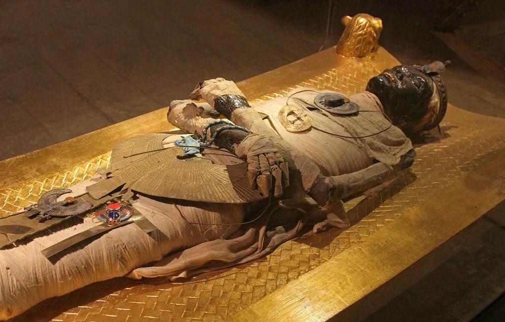 Мумия фараона