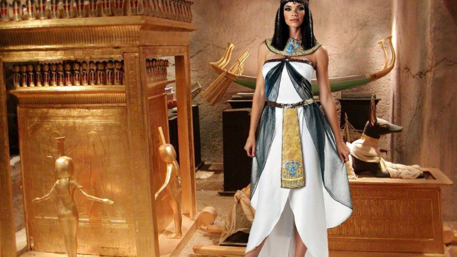 Красивая женщина Клеопатра