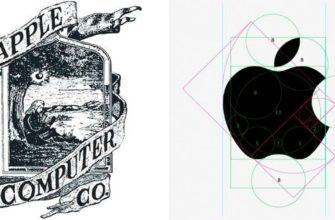первый логотип apple