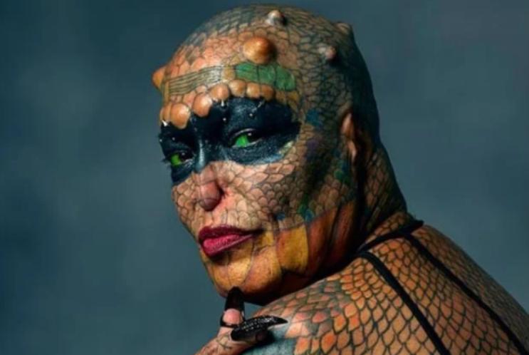 Человек рептилия