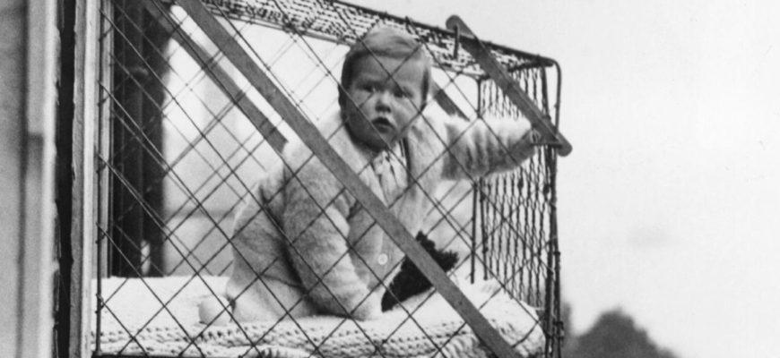 идея проветривать детей в клетках