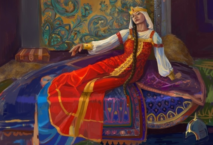 Дочь Бабы Яги Марья Моревна