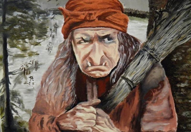 Баба Яга сказочный персонаж