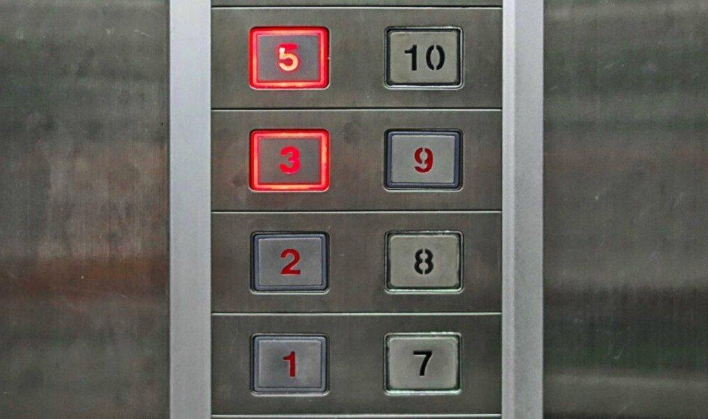В японских лифтах нет цифры 4