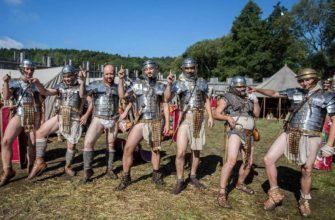 римские солдаты без штанов