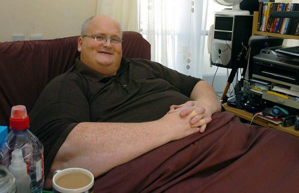 Пол Мейсон весил 445 килограммов