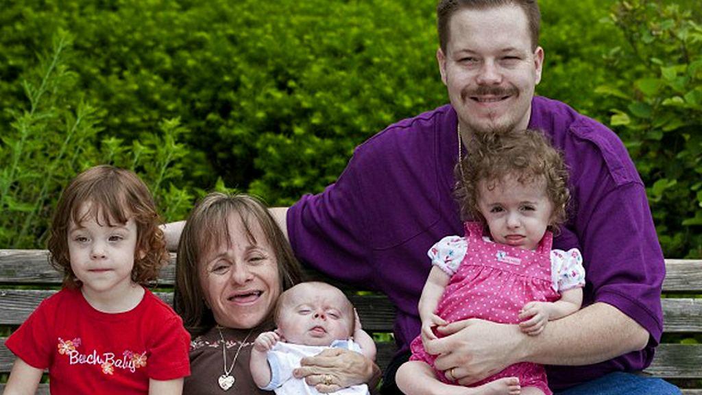 Стейси, Геральд и трое детей