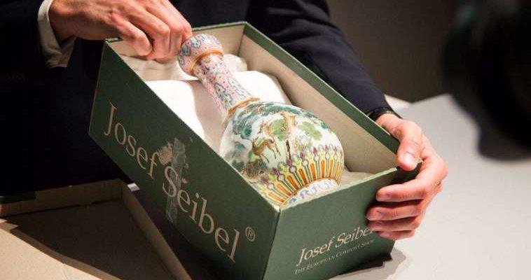 Древняя китайская ваза с чердака