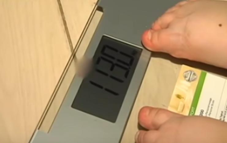 Весы и девочка Вика с Украины