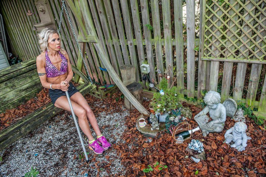 Женщина бодибилдер с диагнозом ДЦП