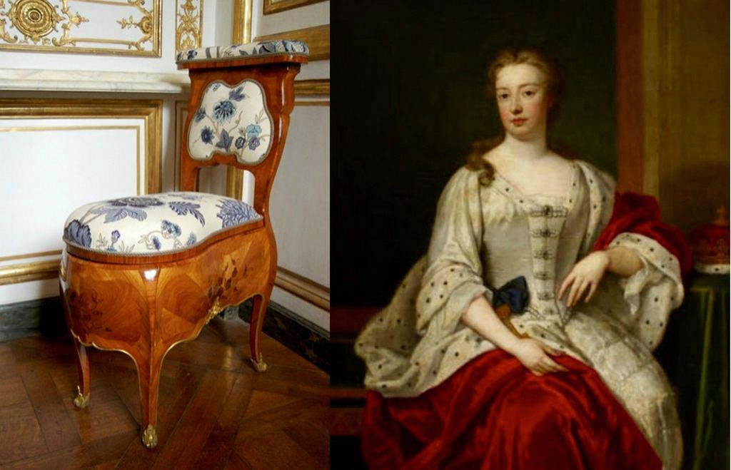 Королевский стул королевы Анны