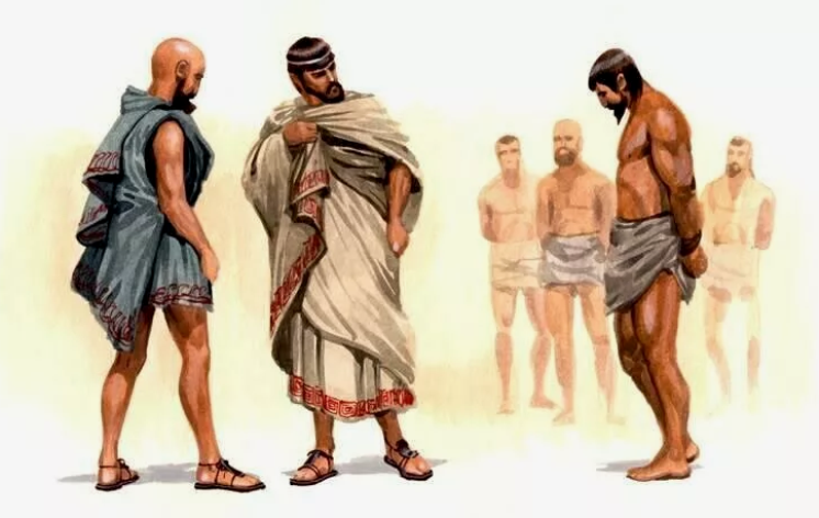 Пленник в Древнем Риме