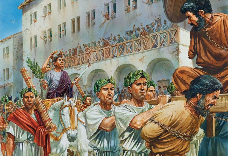 Рабы в древнем Риме