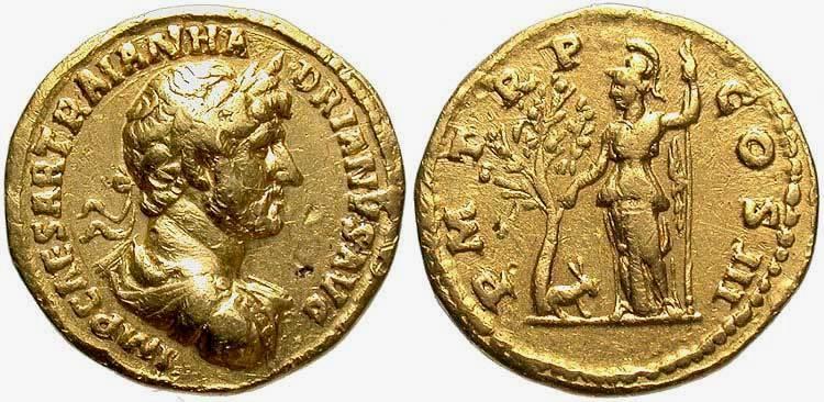 Золотые монеты в Римской империи