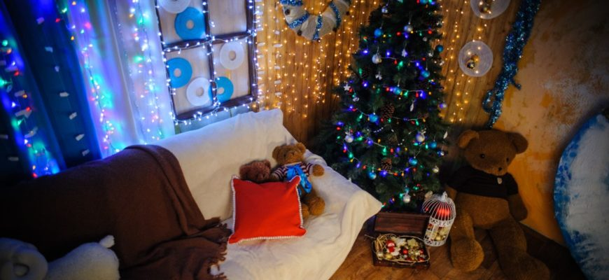 Создать новогоднее настроение