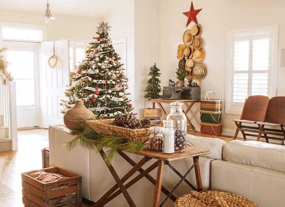Украсить квартиру по новогоднему