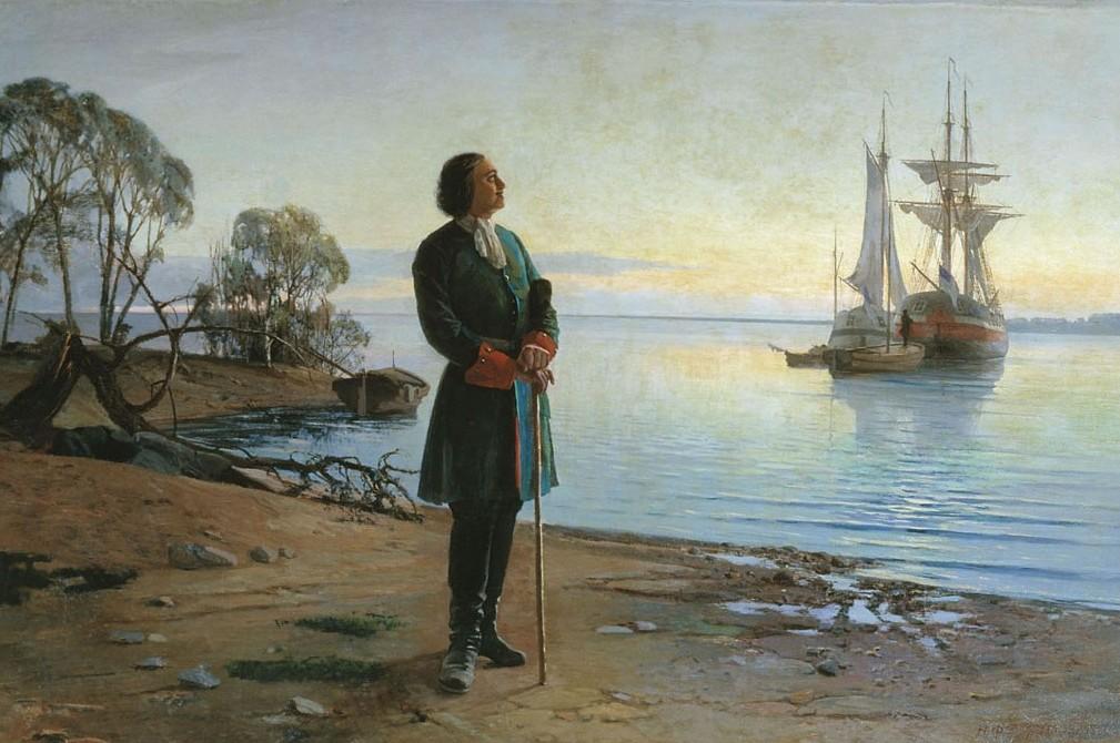 Закладка Санкт-Петербурга